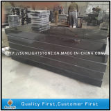 Absolute Shanxi Black Granite Slabs for Tombstone/Headstone/Monument