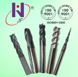 Solid Carbide End Mill for Hardened Steel Tialn Coating