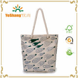 Custom Handbag Women Canvas Bags Beach Bag Tote Shoulder Bags