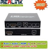 Factory Wholesale Scart+HDMI to HDMI Converter