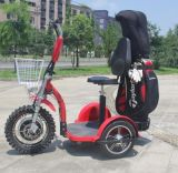 1000W/48V Electric Golf Cart 3 Wheel Scooter 20-22mph