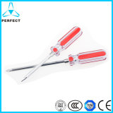 Cr-V Transparent Plastic Handle Philips and Slotted Screwdriver