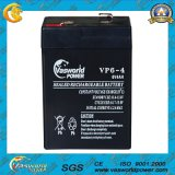 6V2.5ah AGM Lead Acid Battery
