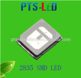 Warranty 5 Years 0.5W 2835 SMD LED in Green Light Color with Ce, RoHS