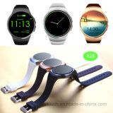 Round Screen Heart Rate Monitor Smart Watch