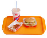 Plastic School Serving Tray / Fast Food Tray