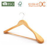 Luxury Style Expanded Shoulder Solid Wooden Suit/Coat Hanger (MC041)