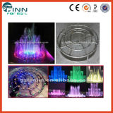 Outdoor and Indoor Stainless Steel Lighted Garden Fountain