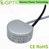 15W 12V 24V Round Switching Waterproof AC/DC LED Driver Transformer SMPS, Single Output Switch Mode Power Supply for Lighting with Ce RoHS