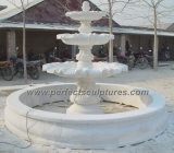 Stone Marble Fountain for Garden Stone Sculpture (SY-F187)
