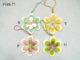 Wood Flower Heart Easter Hanger Decoration