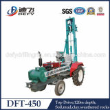 for Large Diameter Farm Irrigation Wells-Tractor Borehole Drilling Rig