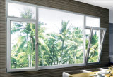 Thermal Break Aluminium Tilt&Turn Casement Window for Singapore