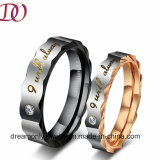 Love You Stainless Steel Ring Couple Pair Ring
