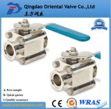 1/4, 3/8, 1/2 NPT Pneumatic Cheap Brass Ball Valve for Gas,