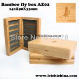Top Quality Bamboo Wooden Fly Fishing Box