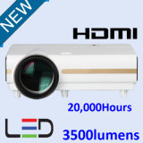 HD LED Video Projector with Multimedia Interface