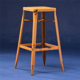 Cafe Used Rustic Vintage Metal Taburete Stool (SP-MC047)