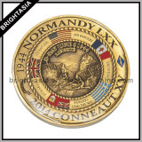 Customized 3D Metal Coin Gift for Promotion or Survenir (BYH-101105)