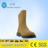 Factory Direct Cheap Price PU Sole Steel Toe Genuine Leather Waterproof Industrial Durable Work Working Safety Boots