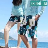 Fashionable Polyester Couple Beach Pants All Kinds of Pattern Shorts