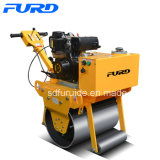 5HP Electric Start Single Drum Vibratory Road Roller (FYL-600C)