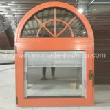 Thermal Break Aluminum Tilt Turn Window with Integral Shutter