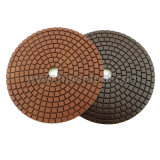 "4"" Professional Diamond Wet Polishing Pads for Stone"