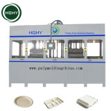 Hghy Good Price Automatic Disposable Sugarcane Paper Pulp Plate Making Machine