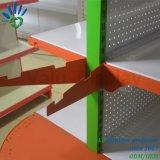 Muti Layers Metal Supermarket Floor Stand Shelving Racks