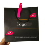 Customized Colors Private Label Cosmetic Eyelashes Packing Paper Bag