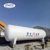 Liquid O2 N2 CO2 Vertical Gas Container with ASME