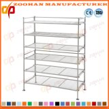 Adjustable Metal Chrome Shoe Storage Rack Wire Shelving Unit (Zhw136)