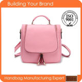 Wholesale Fashion PU Designer Pink Backpack