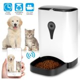 Intelligent Smart Pet Remote Feeder with Audio + Camera + WiFi Dog Feeder