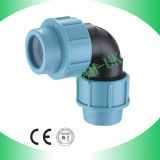 PP Compression Fitting PP Quick Elbow