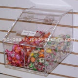 Piccolo Acrylic Display Box for Supermarket Candy Presentation