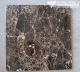 Polished Dark Emperador Marble Tile for Flooring/Wall
