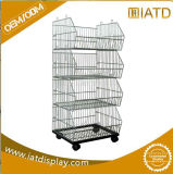 Stainless Steel Wire Warehouse Office Home Kitchen Display Shelving