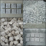 Grey Yellow Black Red Granite Cube Stone Paving Stone