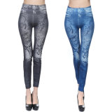 Europe American Print Woman Clothes Pants Leggings