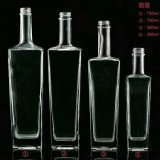 High Quality Wholesale Glass Jar Whiskey or Vodka Bottle