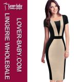Woman MIDI Bodycon Brand Fashion Dress (L36100-3)