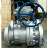 Carbon Steel 600lb Trunnion Mounted Flange Ball Valve