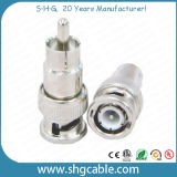BNC Male to RCA Male Adapter Connector for Coaxial Cable Rg59 RG6