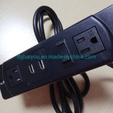 Fuiniture Power Strip Tr Socket with USB Charger & Female Plug and Switch