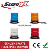 3W LED Warning Beacon Light for Police/Safety Car