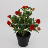 High Grade Artificial Flower Rose for Office Decor