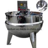 China Supplied 220V Electric Double Jacketed Reaction Vessel