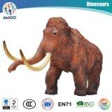 Logo Customized Stuffed Woolly Mammoth Kids Plastic Toy
